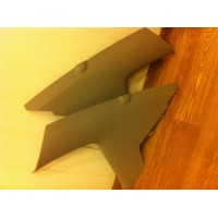 Накладки задних стоек Chery Fora A21 ( Vortex Estina)